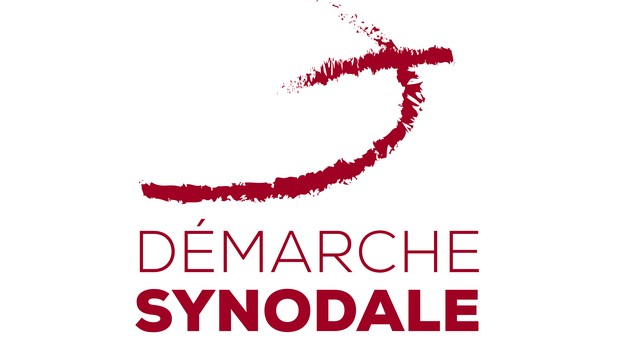 Logo Démarche synodale_Rouge