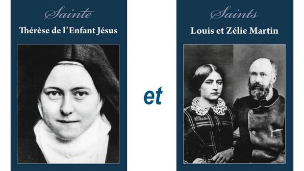 reliques Thérèse et Louis et Zélie Martin