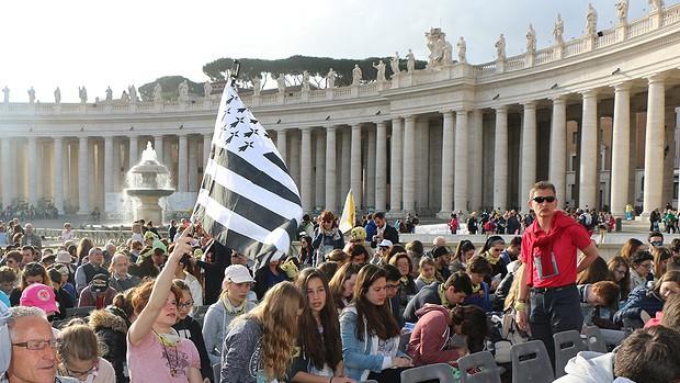 Pélé des ados à Rome