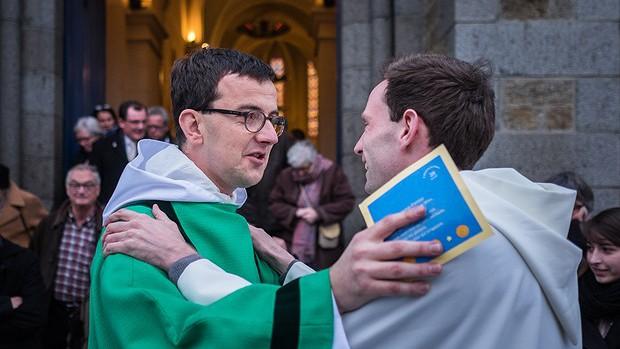 17 janvier 2016 : Ordination diaconale de Guillaume Camillerapp en l'église Saint Patrick d'Alet, Saint Malo