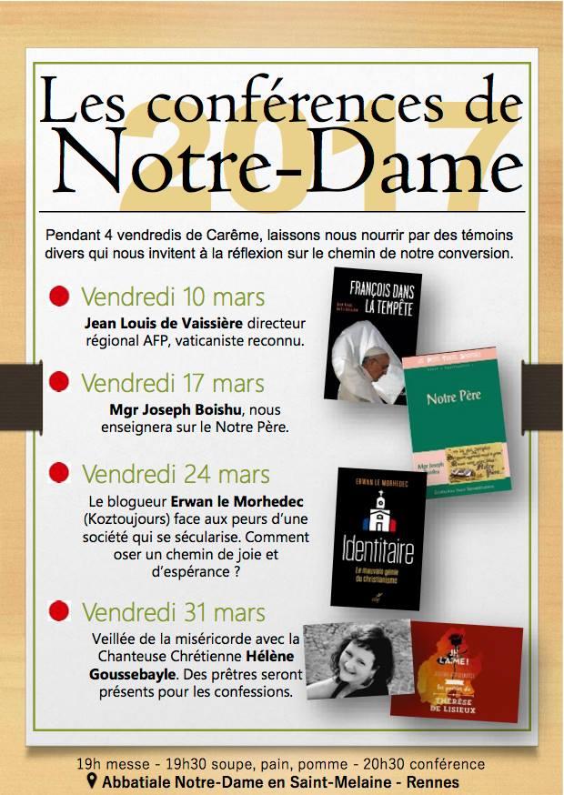 Conférences de Notre-Dame