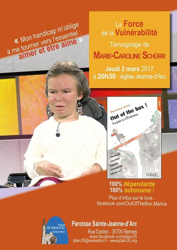 témoignage de Marie-Caroline Shürr
