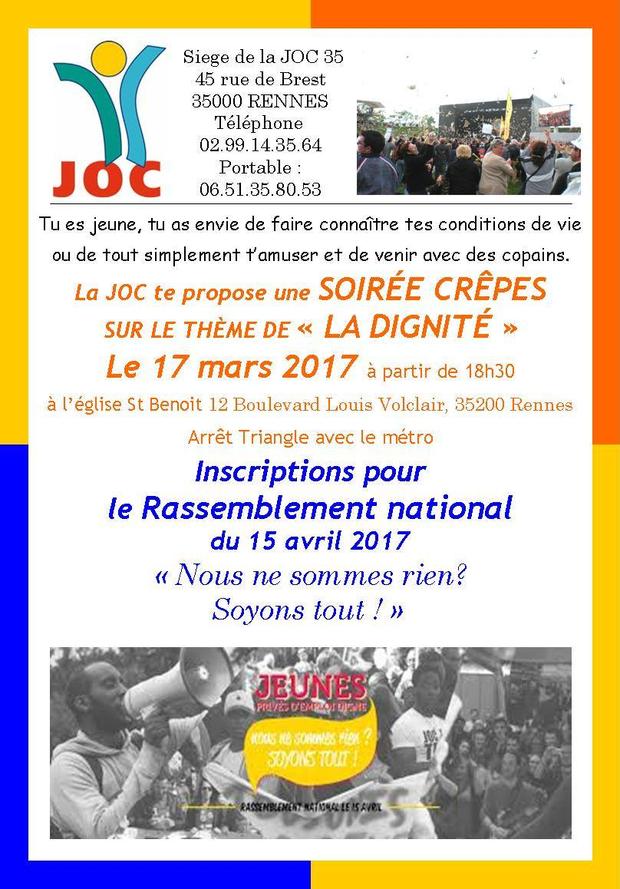 Soirée JOC