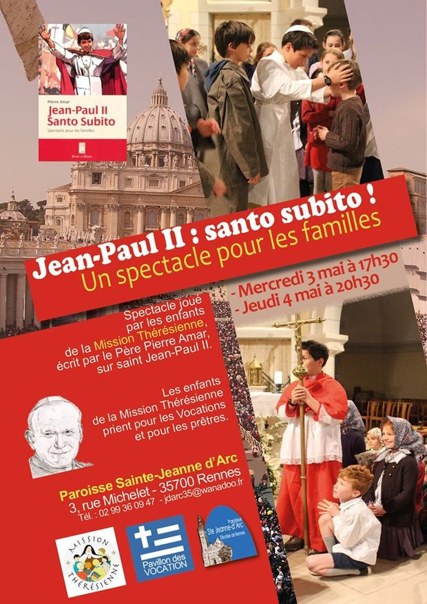 170503 Spectacle Jean Paul II