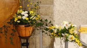bouquet accueil