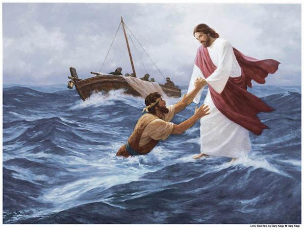 Jesus-Marche-Eau