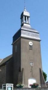 Eglise Saint Martin de Broons/Vilaine avant la restauration