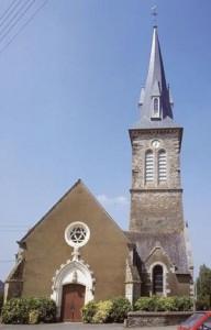 Eglise Saint Jean Baptiste de Saint Jean Sur Vilaine