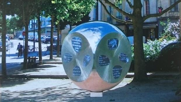Sculpture Chemin de vie