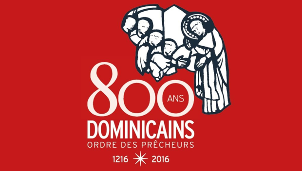 Logo 800 ans Dominicains
