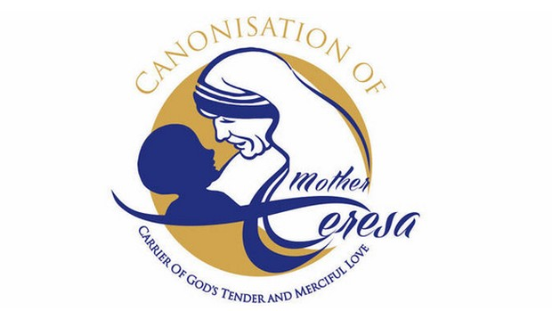 Logo canonisation Mère Teresa