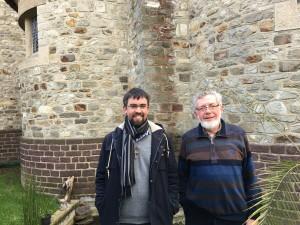 Pères Robert Langouët et Gaël Sachet