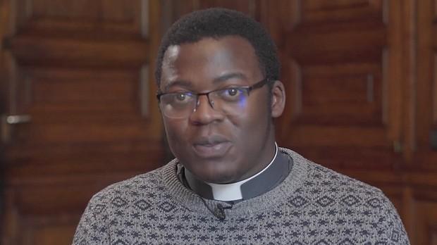 Père Francklin Gracia, spsj, auxiliaire pastoral Paroisse St-Melaine aux Carrefours pacéens