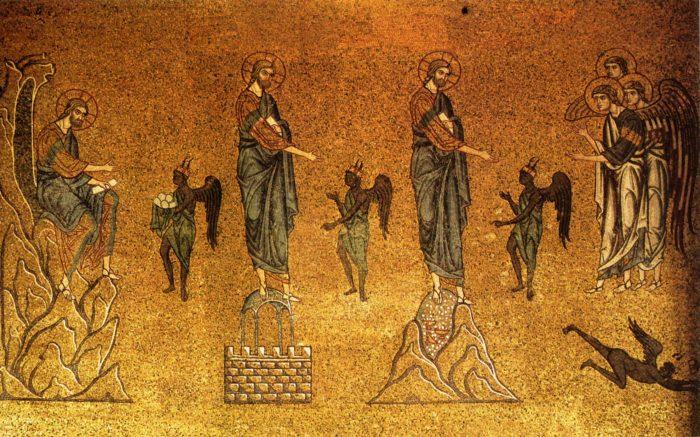 Temptations du Christ San Marco