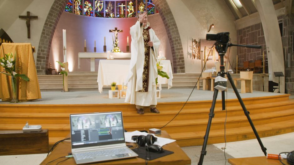 Paroisse de Bruz - Messe retransmise en direct sur le site de la paroisse