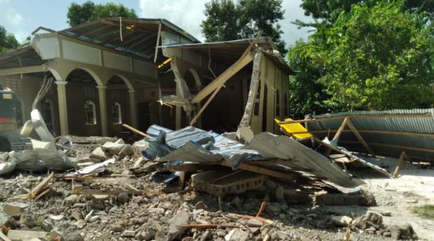 210830 Haïti - Eglise apres