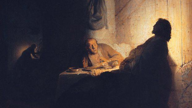 Le souper à Emmaüs, Rembrandt