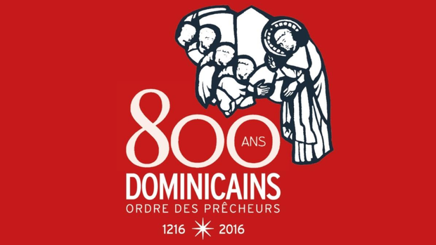 Logo 800 ans Dominicains