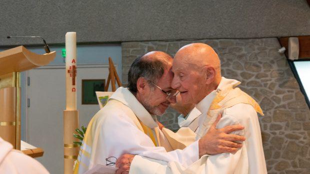 Fr Michel Laloux et Fr. François Lécrivain